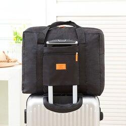 Iux الموضة سفر الحقيبة للماء للجنسين السفر حقائب النساء أكياس سعة كبيرة حقيبة سفر للطي بالجملة