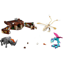 New Fantastic Beasts Newt's Case of Magical Creatures Compatible With Legoing Potters 75952 Building Blocks Christmas Toys Gifts