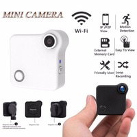 Mini Smart Wifi Wireless HD IP P2P View Camera Motion Detection Surveillance Security Camera Loop Recording
