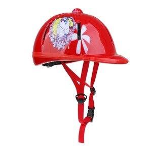 Image 4 - Dzieci dzieci regulowane jazda konna Hat/kask głowy ochronny sprzęt profesjonalny/a jazda kask sprzęt sportowy do użytku zewnętrznego