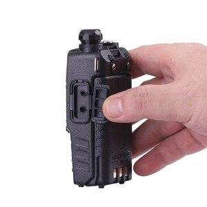 Image 5 - (2 pièces) Baofeng UV5RA Ham Radio bidirectionnelle talkie walkie émetteur récepteur double bande (noir)
