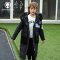 SEVEN SOLO Winter Girls X-Long Down Coat White Duck Down Active Parkas Kids Overcoat For Girl Fur Collar Kids Clothes AAAA+