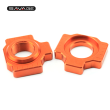 Chain Adjuster For KTM 690 DUKE R ENDURO SMC SUPERMOTO 1190 RC8 RC8R Motorcycle Accessories Regulator Sliders Motos