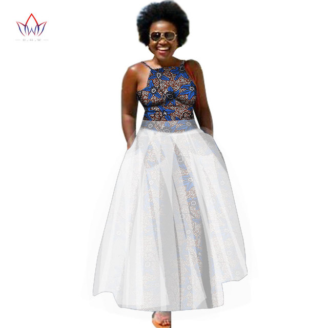 Plus Size Summer Dresses Women 2018 Traditional African Fashion