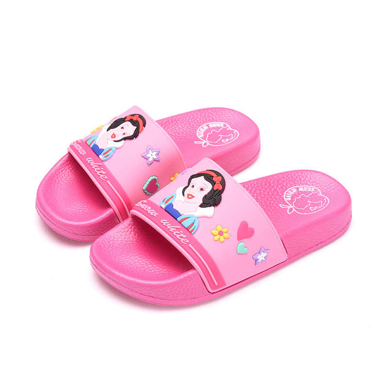 2019 New Girls Slippers Cartoon Princess Little Girls Shoes Comfortable Soft High-Quality Anti-Slip Breathable Kid Shoe 170-220