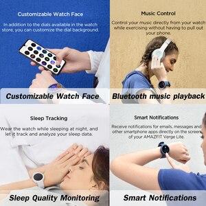 Image 4 - 최신 Origina Amazfit Verge Lite Smartwatch 20 일 배터리 수명 Huami verge2 GPSwatch AMOLE 컬러 스크린 글로벌 버전
