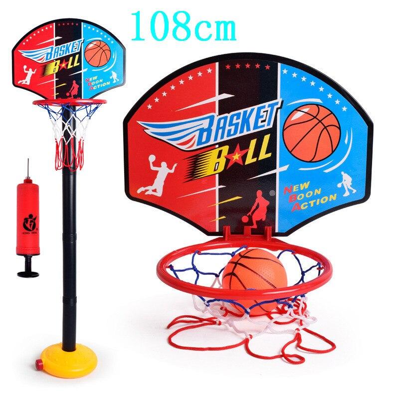 Conjunto de Altura do Jogo do Esporte Suporte de Basquete Rack para Equipamentos de Fitness Ajustável Basquete Hoop Estande Brinquedo Titular Objetivo
