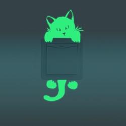 1pcs cute bright home decoration font b luminous b font diy funny cute font b cat.jpg 250x250