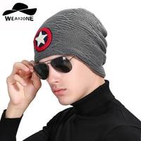 Gorro Winter Autumn Reversible Beanie Men Hat Womens Hats Touca Gorro Snow Caps Knit Hat Star