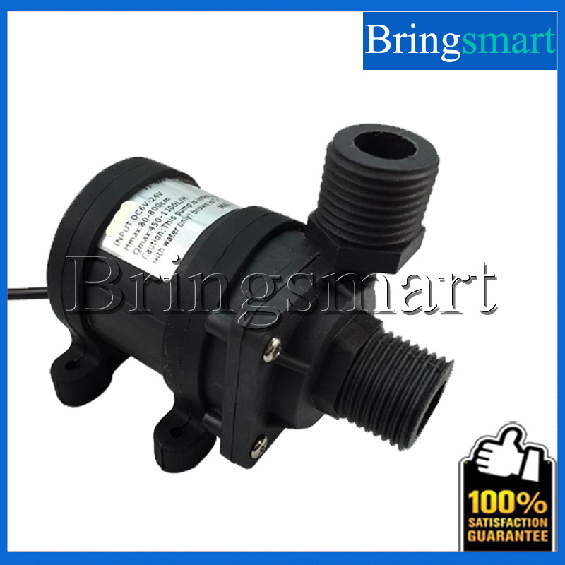 JT-800FX Whorl Booster Pump 650L/H 9M 12V 24V DC Brushless Water Solar Fountain With Sleeve
