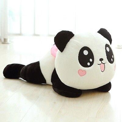 Encantador y súper lindo Peluche de Chico, muñeco suave de oso Panda de juguete para regalo, regalo, 20Cm, nueva moda novedosa Lote de 8 unidades de figuras de acción de Panda, Panda, Mini modelo de PVC para niños, juguetes de animales para niños, regalos de cumpleaños