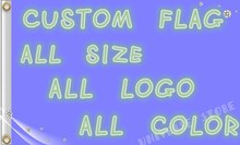 3X5FT 맞춤 깃발, 모든 로고, 모든 색상 모든 크기, 브랜드 광고 회사 로고 깃발 배너 디자인 100D 디지털 인쇄