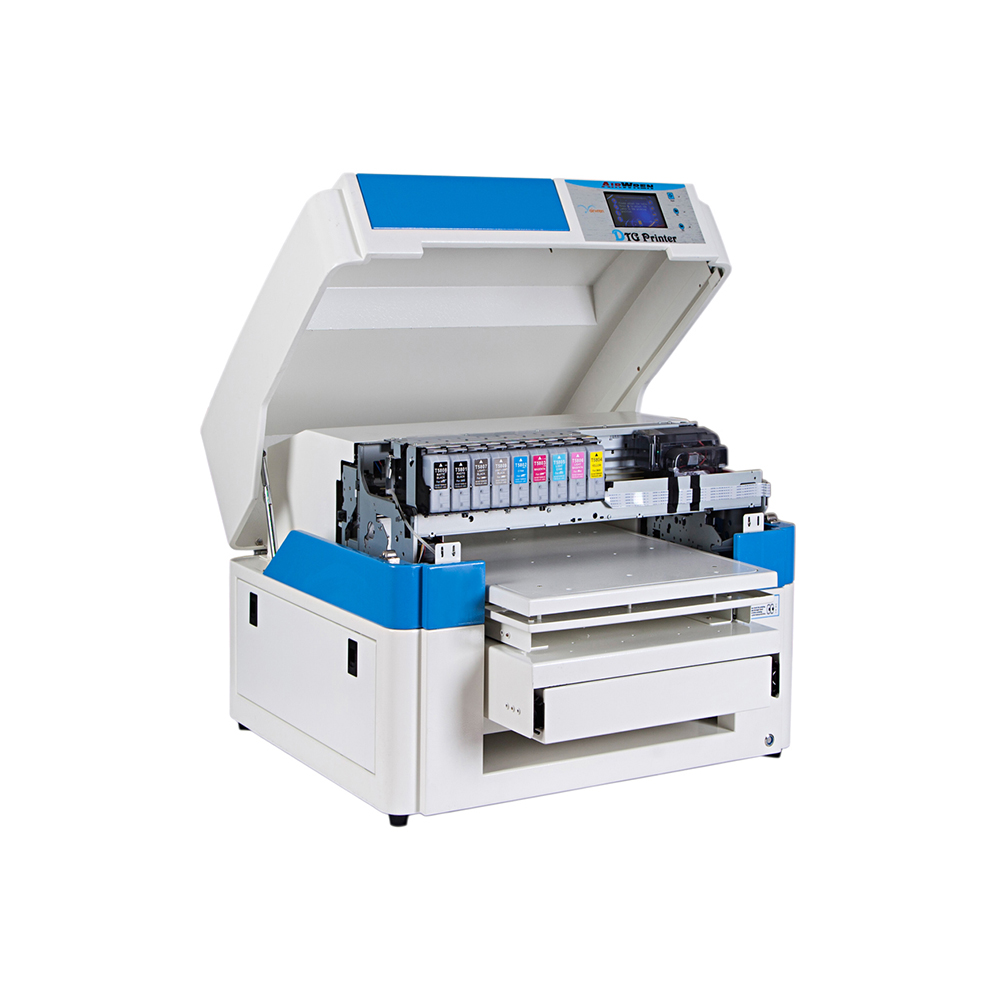 A2 Haiwn-T600 Black And White T-shirt Directly Printer Dtg Printer For T-shirt