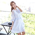 Maternity clothing spring asummer fashion dress maternity dresses blouses Chiffon Skirt for pregnancy women
