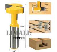 High Grade Straight Edge T Type Knife Groove Engraving Machine Woodworking Milling Cutter