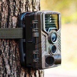16MP HD Scouting Trail Camera PIR Motion-triggered Infra-red Night Vision Sound Recording TFT Screen for Photo & Video Snapshot