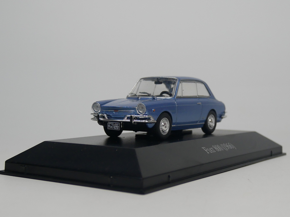 ixo <font><b>1</b></font>:<font><b>43</b></font> <font><b>Fiat</b></font> 800 1966 Diecast <font><b>model</b></font> <font><b>car</b></font> image