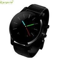 أفضل الأسعار! أعلى جودة الساعات الذكية ساعة بلوتوث smartwatch القلب معدل المسار اليد الجلدية DEC23