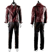 Guardians Of The Galaxy Cosplay Costume Star Lord Adult Men Costume Star Lord Jacket Cosplay Costume