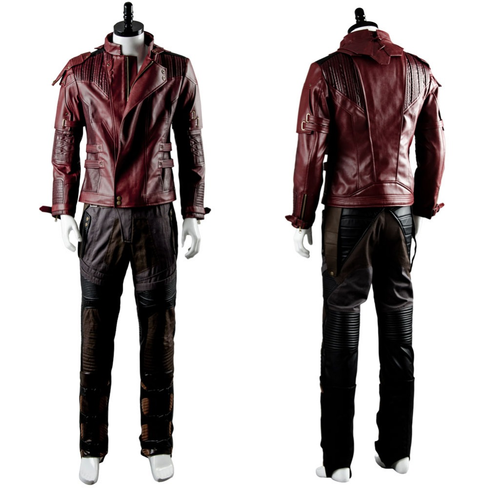 Guardians of the Galaxy Cosplay Costume Halloween Costumes For Adult Star Lord Cosplay Costume Star Lord Jacket Suit Only