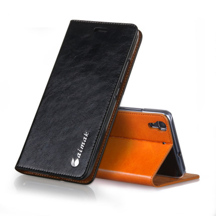 bilder für Für Samsung Galaxy A510F Abdeckung Fall Luxus Brieftasche Stil Echtes Leder-kasten Für Samsung Galaxy A5 2016 A510F Handytasche