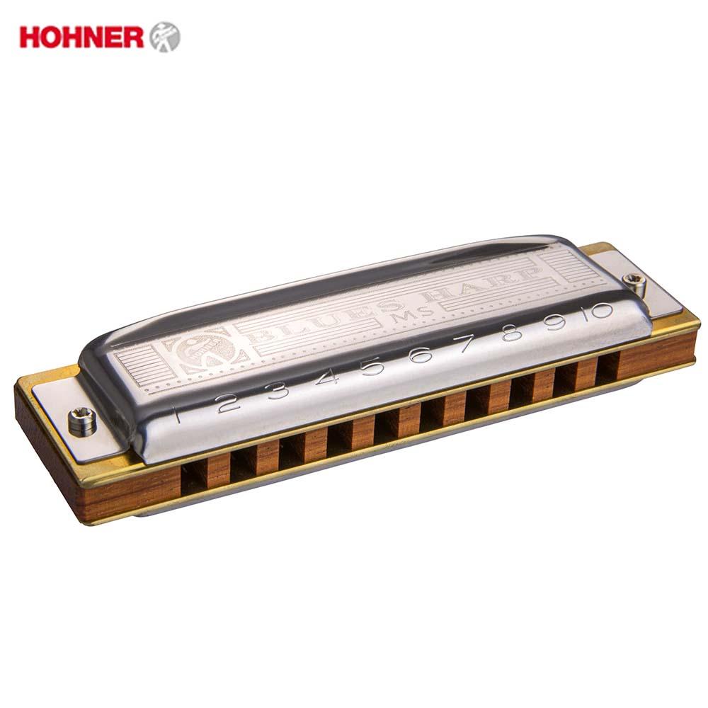 Hohner MS Series Blues Harp 532/20 Diatonic Harmonica 10 Holes 20 Tone Mouth Organ Original Blues Harp Key C Musical Instruments