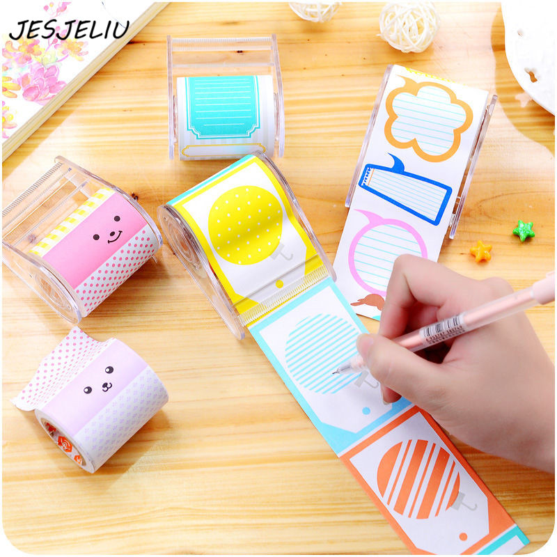 Sticker Post Bookmark Marker Memo Flags Index Pad Tab Sticky Notes Dispenser