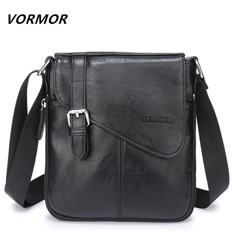 VORMOR borselli In Pelle maschile PU flap bag Spalla borse Crossbody Borse Messenger piccolo sacchetto di Cuoio degli uomini V7745