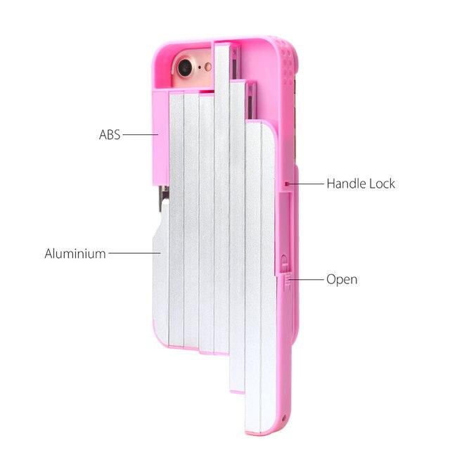 Selfie Stick Case for iPhone 7 Plus / 7 / 6s / 6 Aluminum