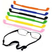 Silicone Eyeglasses Glasses Sunglasses Strap Sports Band Cord Holder F