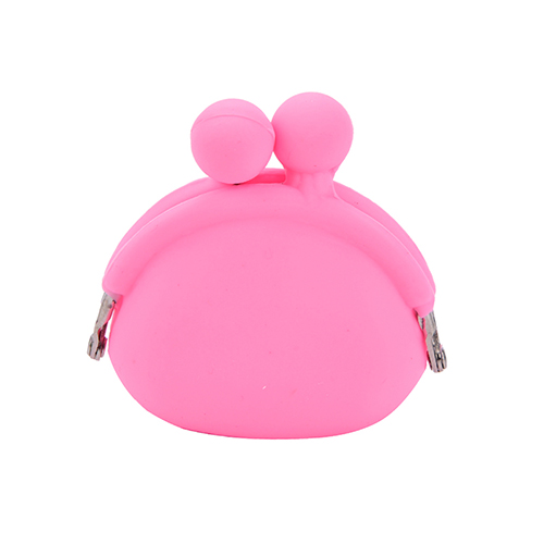 Sweet-Tempered Candy Color 1pcs Women Novelty Silicone Case For Mini Things Bag Coin Purse Key Wallet Gift Luggage & Bags Coin Purses