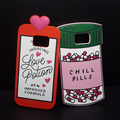 Luxury Fashion 3D Love Potion Chill Pills Bottle Soft Silicone Cover Case For Samsung GALAXY S5/S6/S7/S7 edge Plus Phone Cases