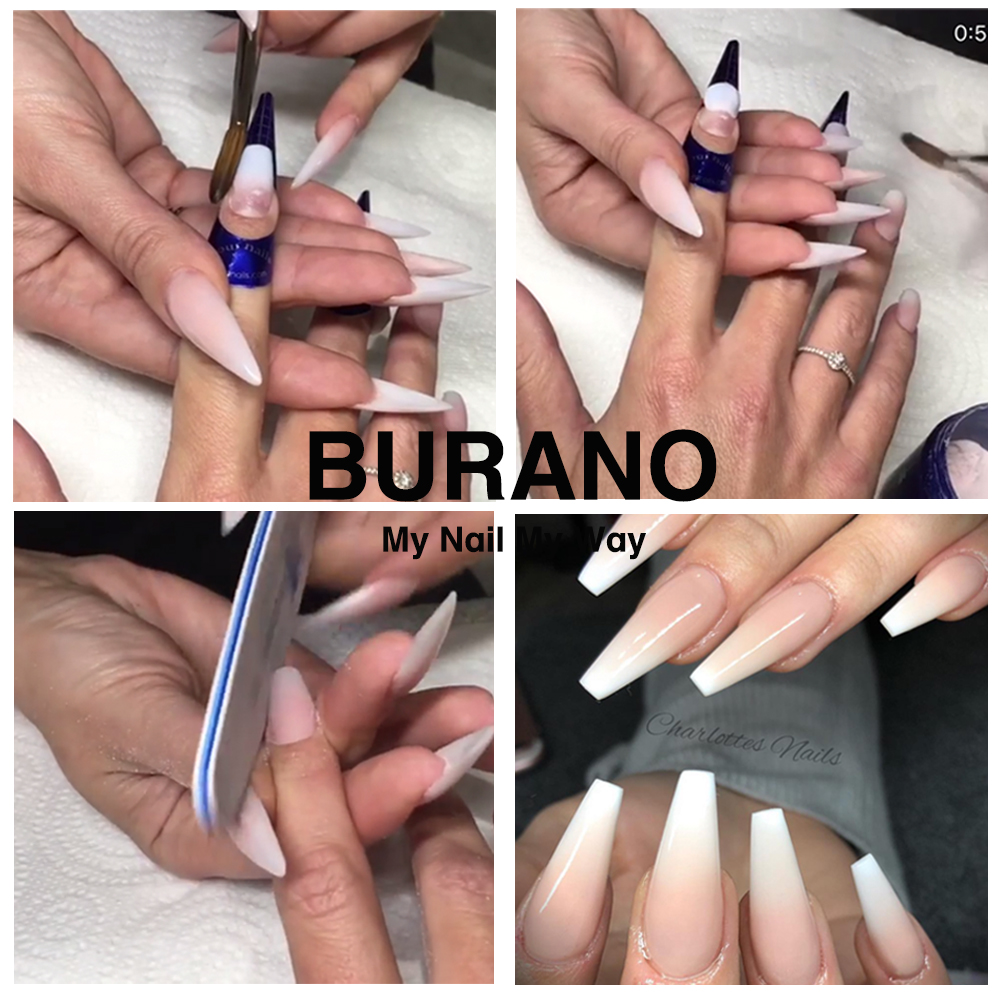 Burano New Arrive Acrylic Nail Art Set Uv Led Lamp Dryer Kit With Tools 011 In Sets Kits From Beauty Health On