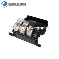6 Way Auto Fuse Box Assembly With 1PCS 24V 40A 4PCS 4Pin 24V 40A Relay Auto