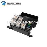 6 Way Auto Fuse Box Assembly With 1PCS 24V 40A 4PCS 4Pin 24V 40A Relay Auto