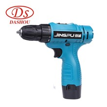 цена на DS 12.6v Single Speed Electric Drill Charging Pistol Drill Electric Screwdriver JP128-1 Power Tools Electric Screw Driver