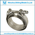 3.5''VBand/V-Band Clamp in clamps with M/F flange(SS304 auto exhaust pipe)
