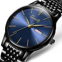 2018 New Luxury Brand Watch Men Fashion casual Waterproof Quartz Watches Ultra Thin Stainless Steel Wristwatch Relogio Masculino