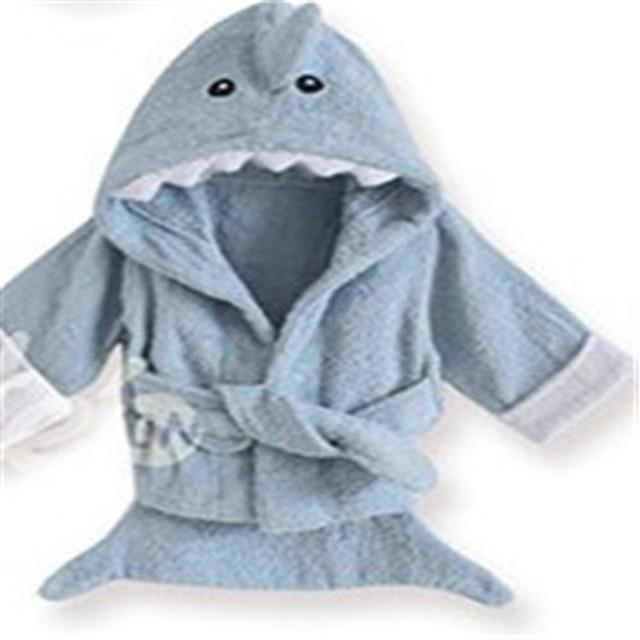 2016 cobertor Outro animal bebê roupão de banho de algodão Roupão De Banho de Algodão crianças 100% Algodão A-XBK-YJ-003