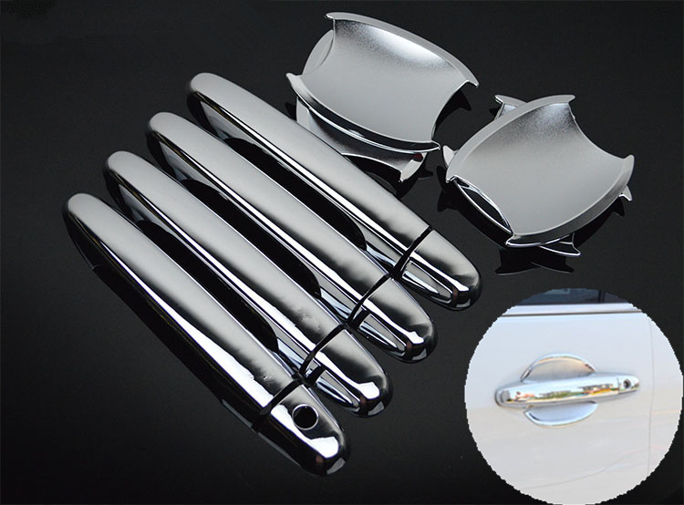 FUNDUOO For <font><b>Honda</b></font> CR-V <font><b>CRV</b></font> 2012 2013 2014 2015 2016 New Chrome <font><b>Door</b></font> <font><b>Handle</b></font> + Cup Bowl Covers trim Free Shipping Car Accessories image