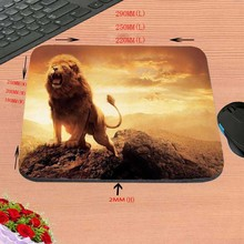 Fierce Lion DIY Luxury print New Design Make Your Own Amazing Mouse Pad Customized Computer Notebook Great Star Mouse Mat