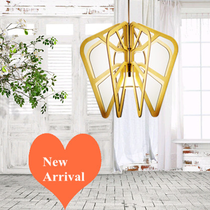 Modern fashion brief Ply-Wood chips Chandelier handmade E27 LED lamp indoor lighting for porch&living room&corridor BT254-300