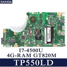 KEFU Laptop motherboard for ASUS Transformer Book Flip TP550LD TP550LN TP550LA Test original mainboard 4G RAM