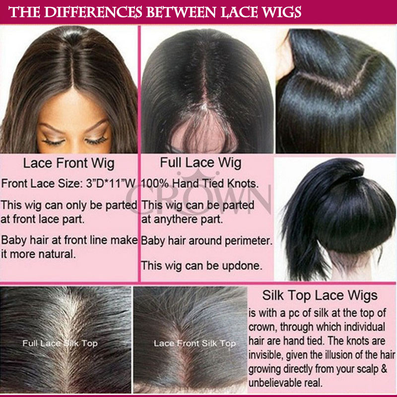 between lace wigs