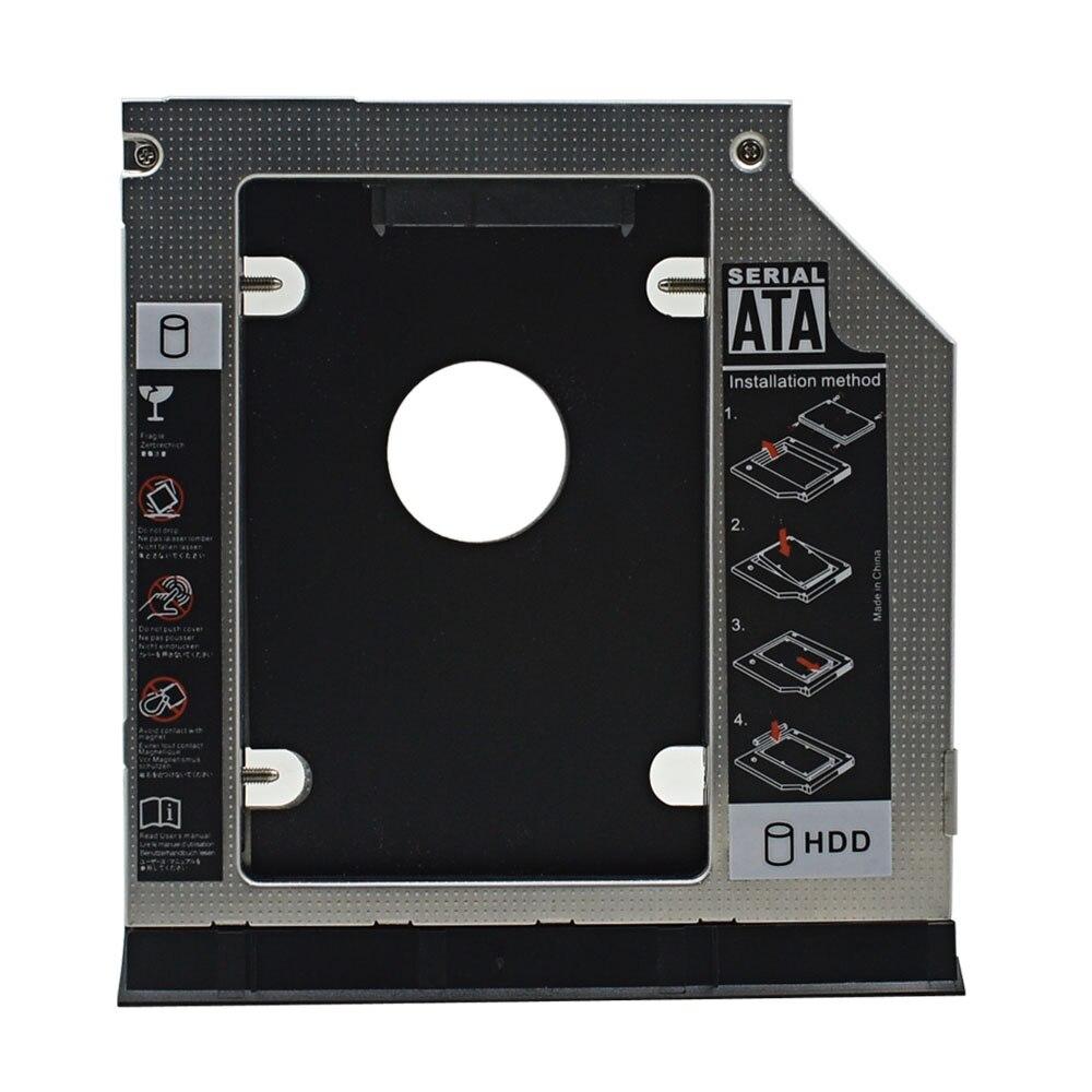 Tishric 2nd ssd hdd sata 9.5 caddy adaptador optibay gabinete para dell latitude inspiron e6320 e6420 e6520 e6330 e6430 e6530 caso