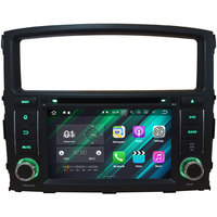 7'' Quad Core Android 7.1 2GB RAM 2 din Car DVD player GPS Navigation Video Mutimedia For Mitsubishi Pajero V97 V93 2006-2016