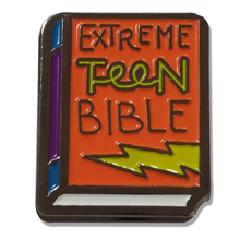 Custom Metal Extreme Teen Bible Book Lapel Pin for Gift cheap custom bible badges
