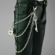 [Wamami] 16# цепочка на талию наряд 1/3 SD-SD17 DZ70 BJD Dollfie серебряный металлический замок