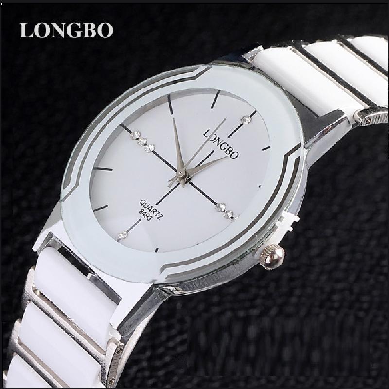 Роскошные керамические водостойкие спортивные мужские наручные часы, Бесплатная доставка Высокое качество Мужские стальные керамические стразы часы 8493