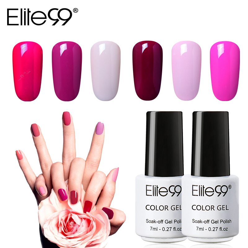 Elite99 7ml HOT Gel Nail Polish Soak Off UV Led Nail Gel Enamel Venalisa  Semi Permanent Gel Varnish